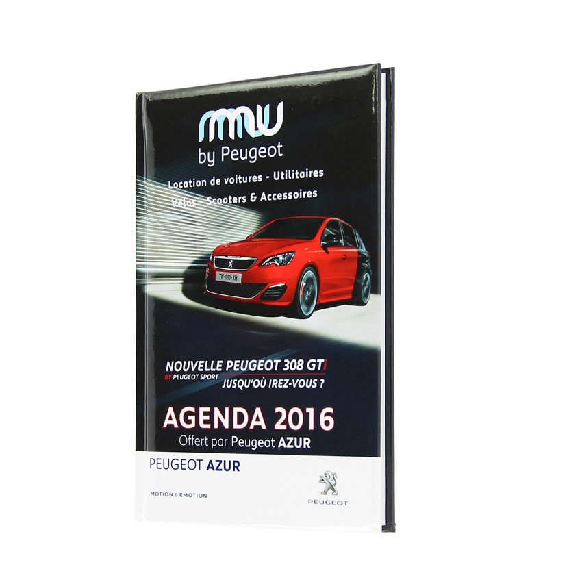 agenda mu by peugeot margy consultants fabricant agendas. Black Bedroom Furniture Sets. Home Design Ideas