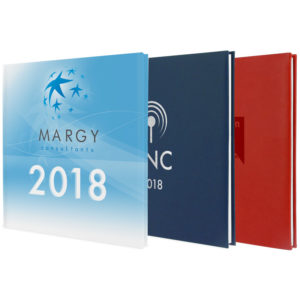 Quatro diary - Margy Consultants Advertising diaries manufacturer