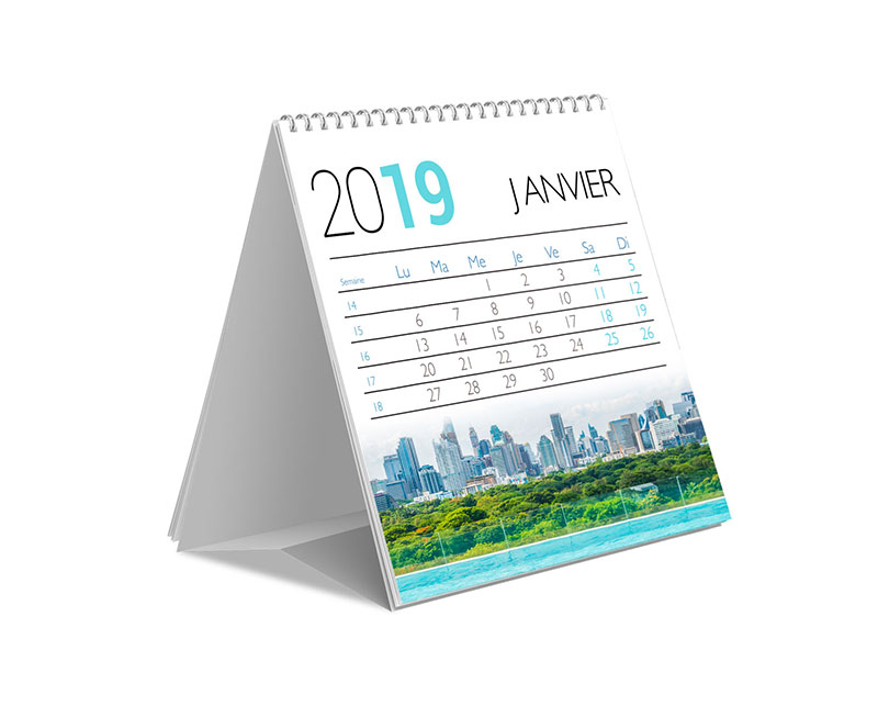 Desktop calendar - Margy Printer consultancy