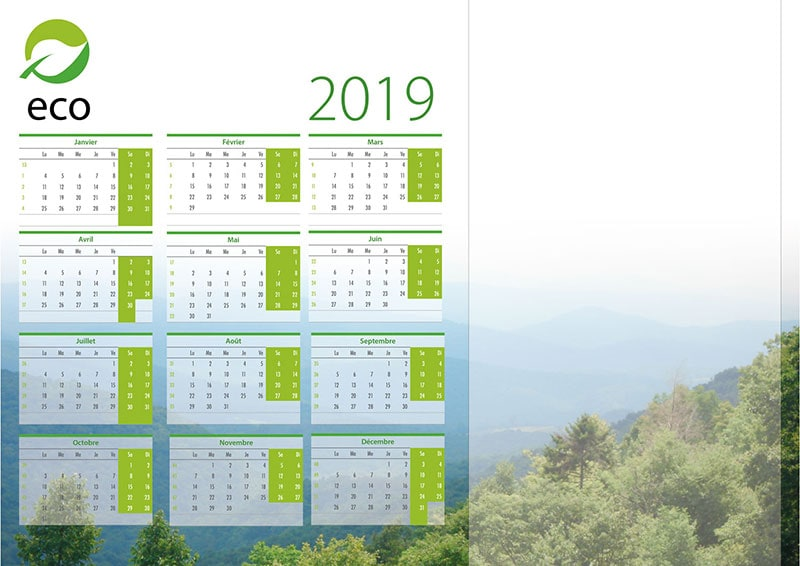Blotter calendar - Margy Printer consultancy