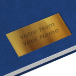 Golden nameplate - Margy Consultants Printer consultancy