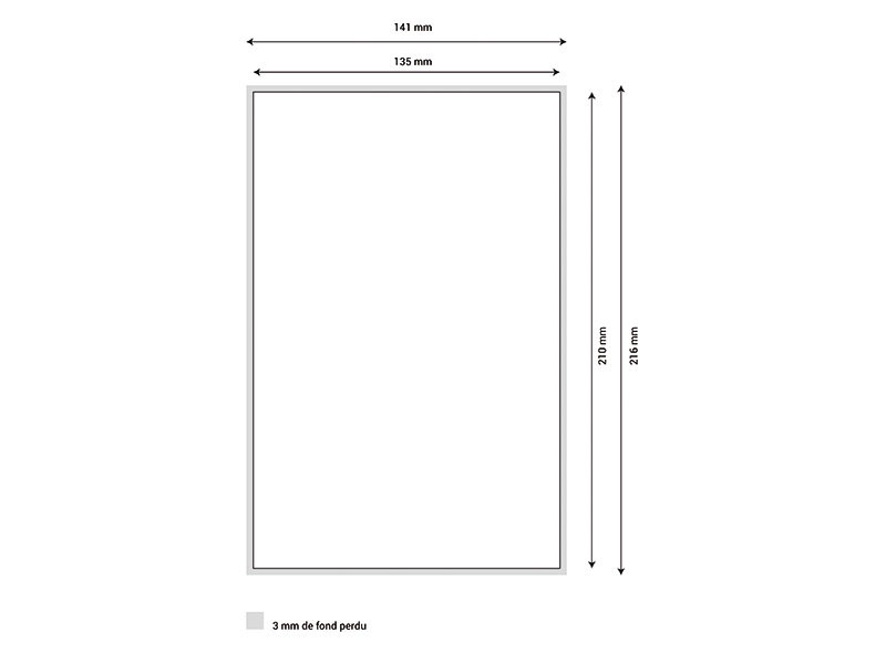 Diary template 13x21 Margy Printer consultancy