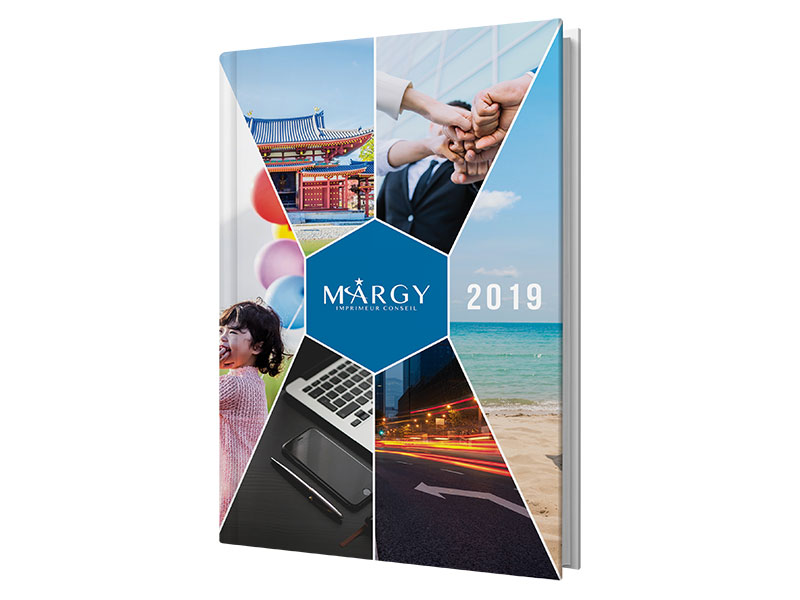 diary four color Margy Consultants Printer consultancy