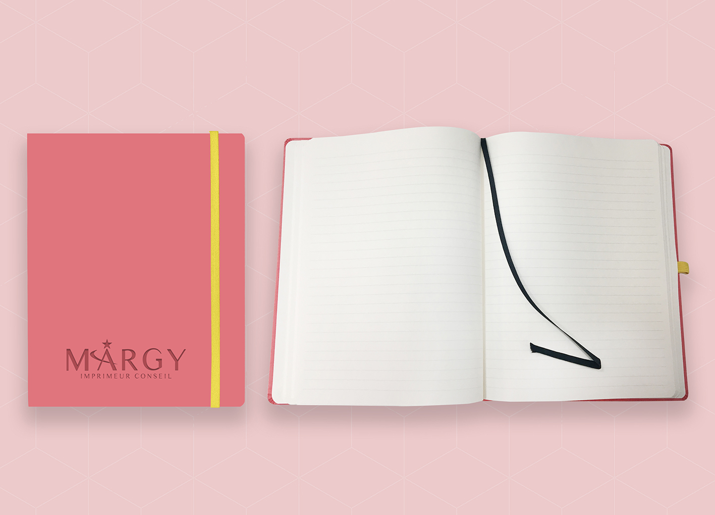 Custom notebook Margy Consultants Printer consultancy