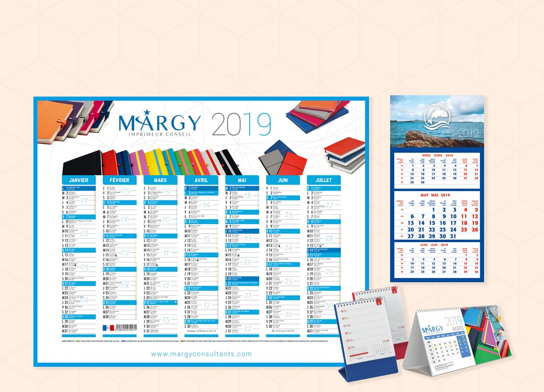 Margy Consultants Accueil Calendriers