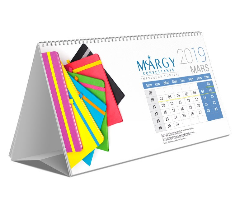 Margy Consultants Calendrier Chevalet Couv